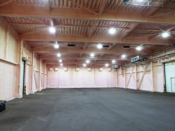 丸全北海道運輸(株) 札幌営業所B倉庫の低温空調設備工事完了のお知らせ